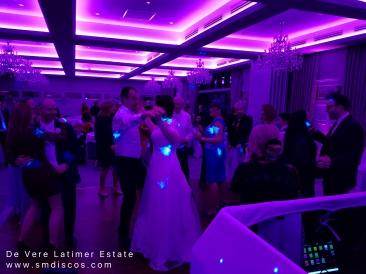 wedding event dj de vere latimer estate.