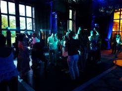 DJing at Ashridge House