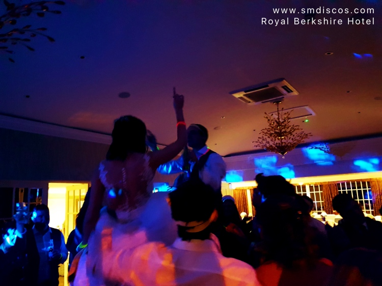 Wedding DJ for The Royal Berkshire Hotel