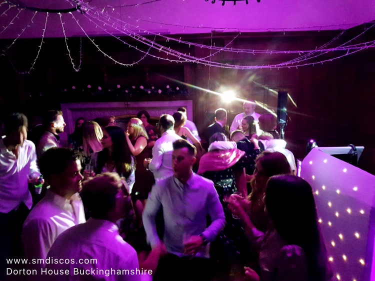 Wedding DJ at Dorton House