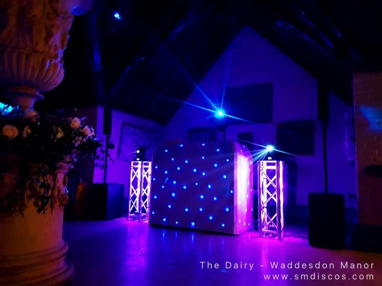 Wedding DJ at The Dairy Waddesdon Manor
