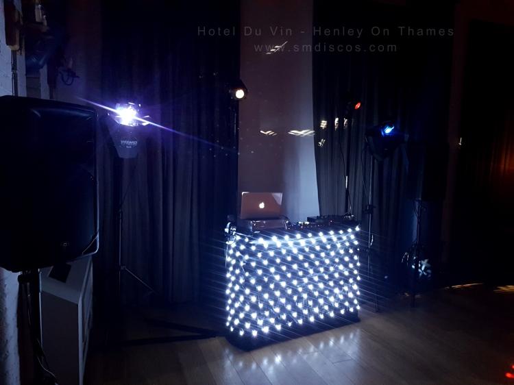 SM Discos DJ booth