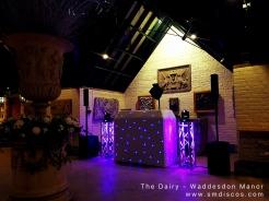 waddesdon manor dj disco the dairy