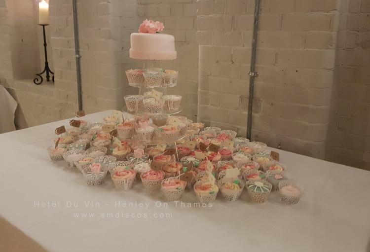 cupcakes at hotel du vin