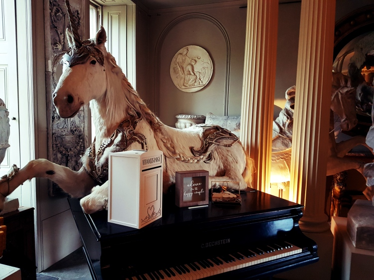 Aynhoe Park's Unicorn!