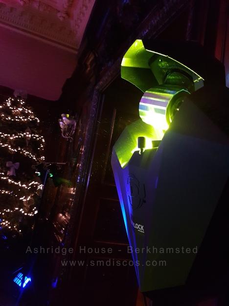 ashridge house dj lighting