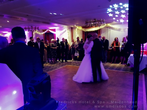 Wedding DJ Fredricks Maidenhead