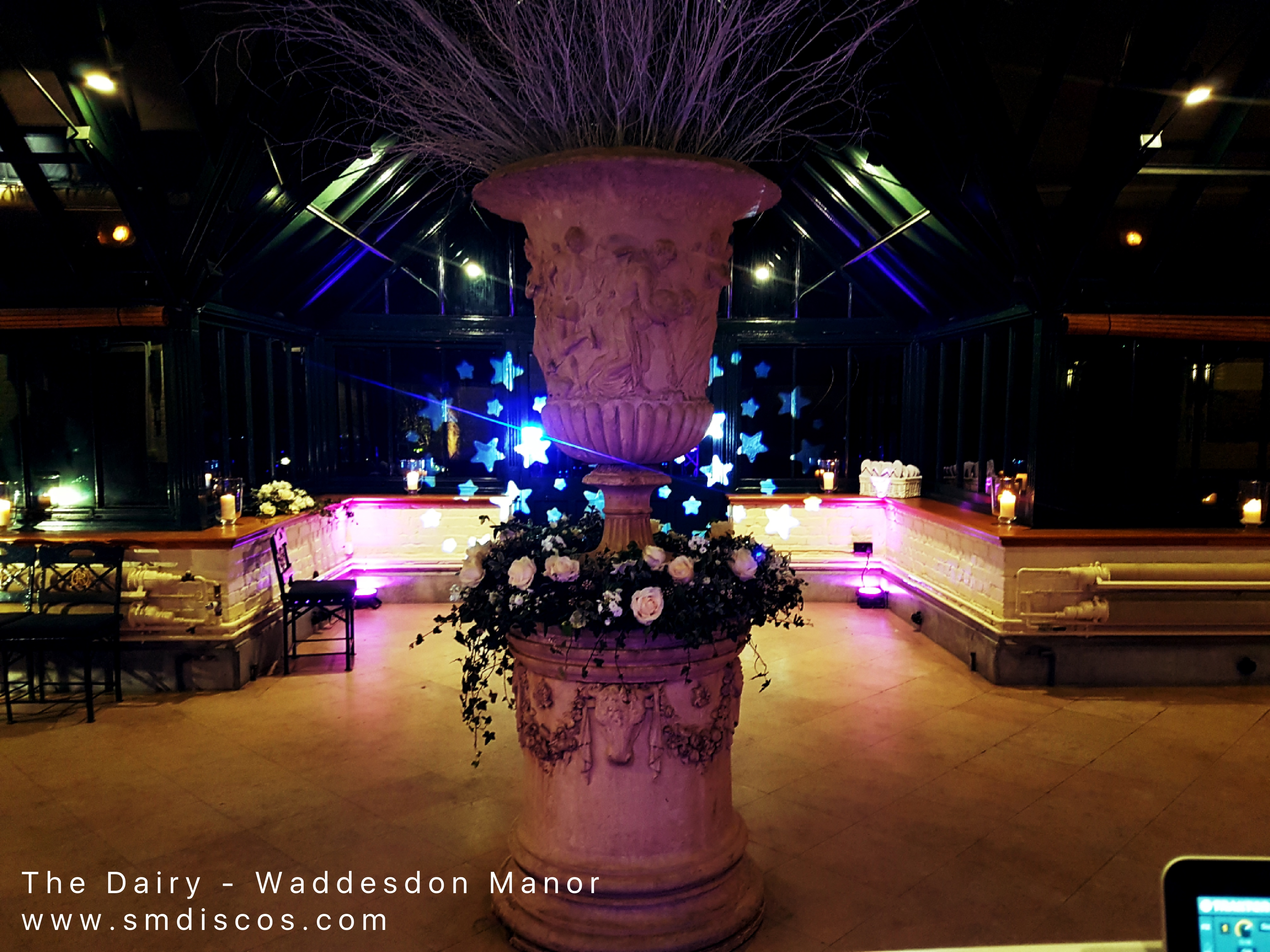 wedding disco waddesdon manor