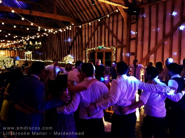 Wedding disco at Lillibrooke Manor
