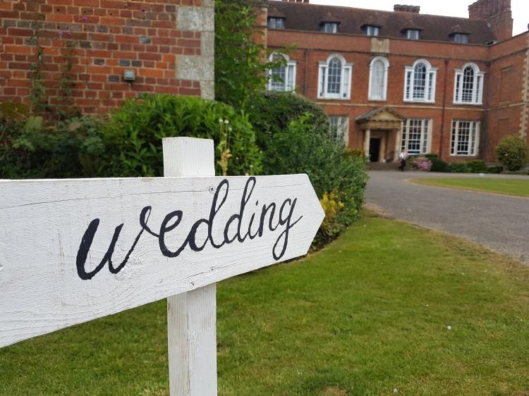 Wedding DJ for Dorton House