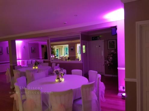 Westwood Hotel Oxford mood lighting