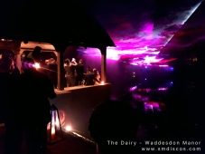 wedding lighting waddesdon manor