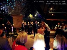 wedding discos waddesdon manor