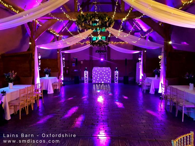 Lains Barn Oxford Wedding DJ