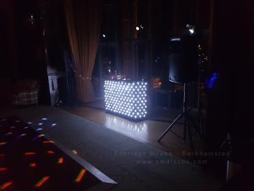 mobile dj wedding dj at ashridge house