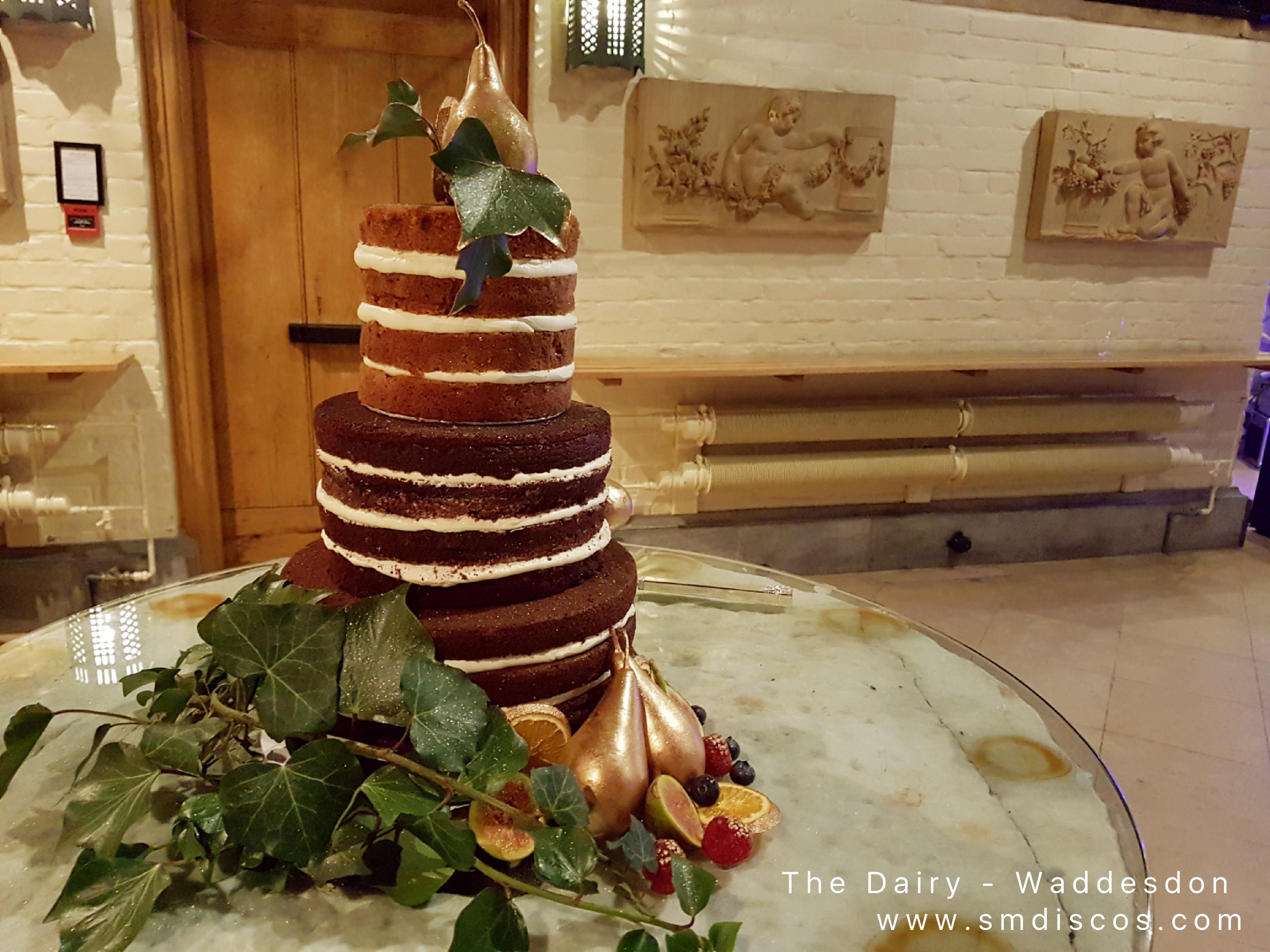 wedding cake waddesdon manor