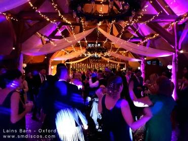lains barn wedding djs